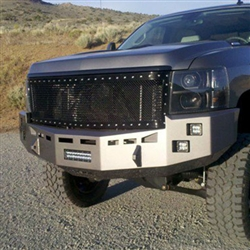 Fusion Bumpers 2007 5 2010 Chevy Duramax 6 6l Front