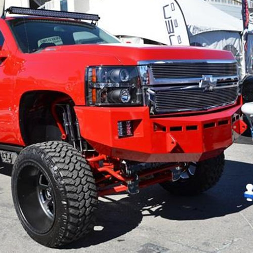Fusion Bumpers 2011 2014 Chevy Duramax 6 6l Front Bumper
