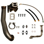 PPE Diesel 1160050 GT40R Series Turbo Installation Kit 2001-2007 GM 6.6L Duramax