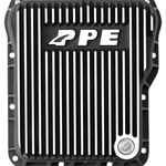 PPE Diesel 128051010 Brushed Deep Tranmission Pan 2001-2011 GM 6.6L Duramax