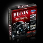 Recon 264181CF Raised Letter Insert 2008-2012 Ford Superduty Carbon Fiber