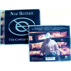 THIS COWBOY'S TIME by Noe Roman by Noe Roman Country Music REI 643157190226