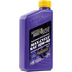 Royal Purple 01315 SAE 10W-40 Max-Cycle Synthetic Oil 1 Quart Bottle Universal