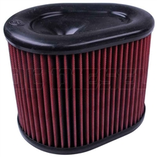 S&B Filters Intake Replacement Air Filter - Cotton (Cleanable) KF-1062