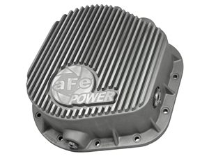 aFe Power 46-70020 Street Series Rear Differential Cover Raw Finish for 1986-2016 Ford 7.3L, 6.0L, 6.4L, 6.7L Powerstroke