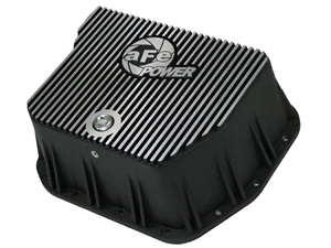 aFe Power 46-70052 Transmission Pan Machined Fins for 1994-2007 Dodge 5.9L Cummins