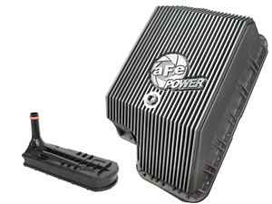 aFe Power 46-70120-1 Transmission Pan Raw Finish for 1994-2010 Ford 7.3L, 6.0L, 6.4L Powerstroke
