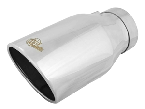 "aFe Power 49T40604-P12 MACH Force-Xp 6"" Exhaust Tip 304 Stainless Steel for 4"" Exhaust Systems"