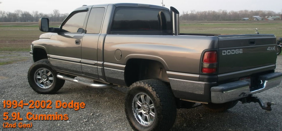 2nd Gen Dodge Cummins 5 9l 94 02 Diesel Performance Parts