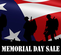 Sitewide Memorial Day Sale 2016