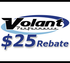 Volant Performance $25 Air Intake Rebate