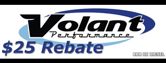 $25 Rebate Volant Performance Air Intakes