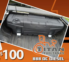 $100 Rebate Titan Fuel Tanks