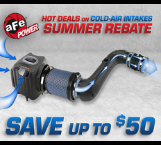 aFe $50 Air Intake Rebate