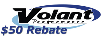 $50 Volant Intake Mail-In Rebate
