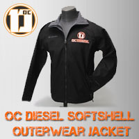 OCDIESEL Softshell Jacket with Logo