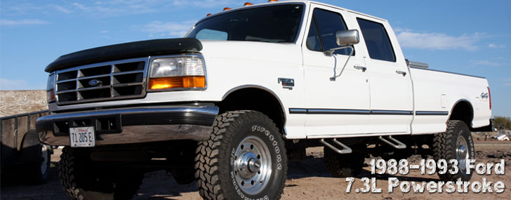 88-93 Ford 7.3L Powerstroke Trucks