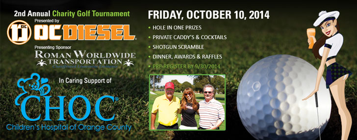 2nd Annual Charity Golf Tournament Presented by OC DIESEL