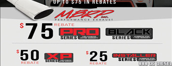 $75 Off MBRP Exhausts